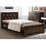 6231W Wooden Single Bed