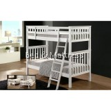 Xyrus Wooden Single Bunk Bed