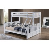 Lance Wooden Twin/Full Bunk Bed