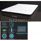 SleepV Max Rest Chiropractic Coil Mattress