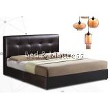 OBS BED-00163 Upholstered Divan Bed