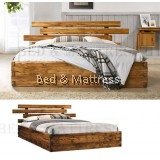 ALJA A0511 Wooden Queen Bed