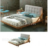 ALJA A0513M Wooden Queen Bed