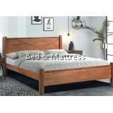 Anne 619 Wooden Queen Bed