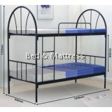 DTB-9 Metal Single Bunk Bed