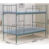 HB1 Metal Single Bunk Bed