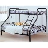AM5 Metal Twin/Full Bunk Bed
