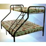 AM6 MetalTwin/Full Bunk Bed