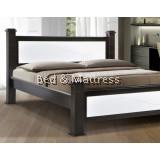 ATN3515/3615WHW Wooden Queen Bed