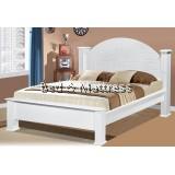 ATN3523/3623WH Wooden Queen Bed