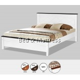 AT CS1502/CS1602WHW Wooden Queen Bed