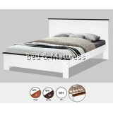 AT CS1507/CS1607WHW Wooden Queen Bed