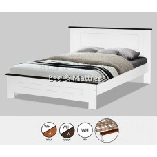 AT CS1508/CS1608WHWWooden Queen Bed