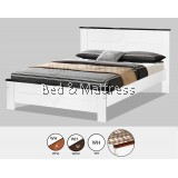 AT CS1510/CS1610WHW Wooden Queen Bed