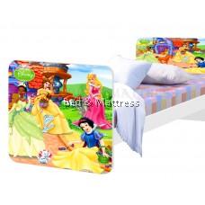 ATN8247/8347WHWooden Single Children Bed