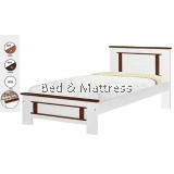 ATN CS1212/1312WHA Wooden Single Bed