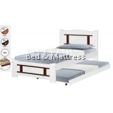 ATN CS1213/1313WHAWooden Single Bed with Trundle