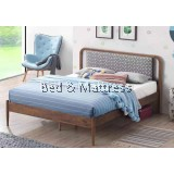 Gold 26-3000-DB (M34) Wooden Queen Bed Frame