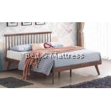 CKE Gold 26-3001-DB Wooden Queen Bed Frame