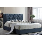 BR PA Divan Upholstered Queen Bed Frame