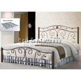 DB 2319 Metal Queen Bed Frame
