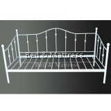 Amelia White Metal Day Bed