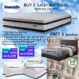 DALBY BEDFRAME + MATTRESS PROMOTION