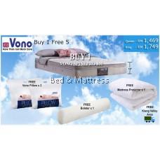 VONO Mattress BUY 1 FREE 6 PROMOTION