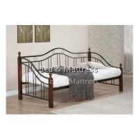 Rosie Wood/Metal Day Bed