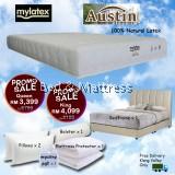 Mylatex Austin Mattress BUY 1 FREE 7 Goodies PROMOTION