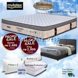 Mylatex Liberty Mattress BUY FREE 7 Goodies PROMOTION