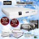 Mylatex Relax Zone Mattress BUY 1 FREE 7 Goodies PROMOTION