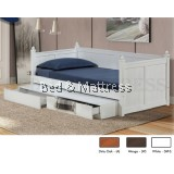 LT 1245 Wooden Day Bed with Drawers