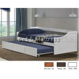 LT 1255 Wooden Day Bed with Trundle