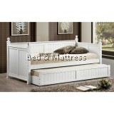Lauri Wooden Day Bed with Trundle Bed