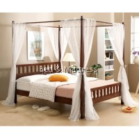 Lovebed Wooden Poster Bed