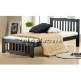 Rossa Wooden Single Bed