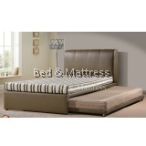 Berry Divan Single Bed with Trundle