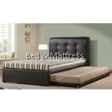 Crispin Divan Single Bed with Trundle