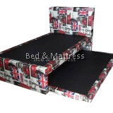 Amera Divan Super Single Bed with Trundle