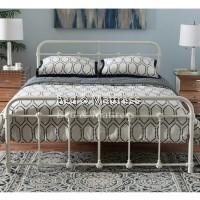Sandy Metal Queen Bed