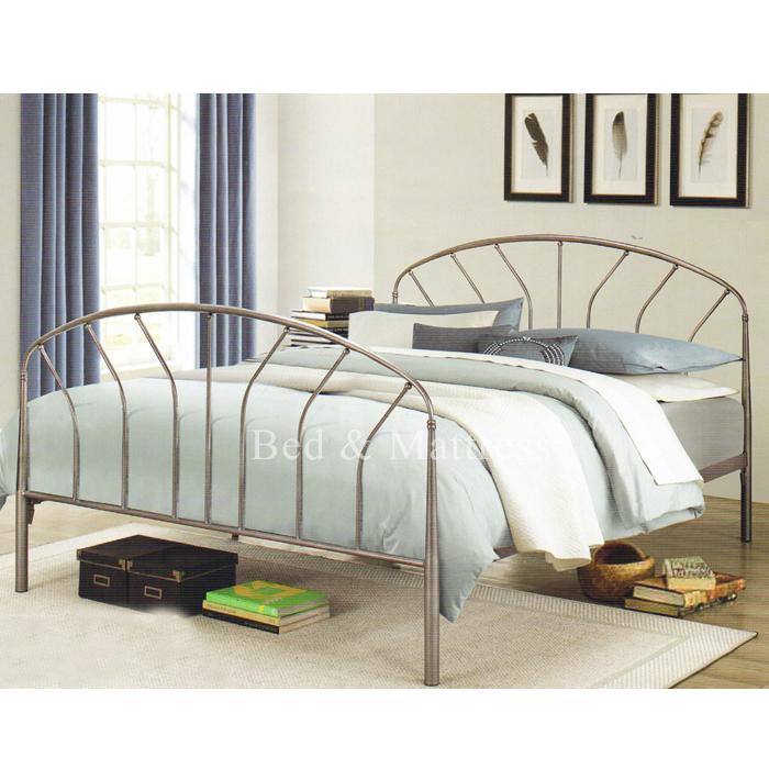 Evelyn Metal Queen Bed