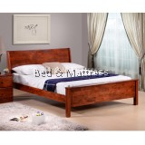 Alfie Wooden Queen Bed