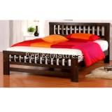 Charlotte Wooden Queen Bed
