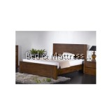 Charly Wooden Queen Bed