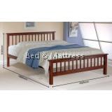 Chloe Wooden Queen Bed