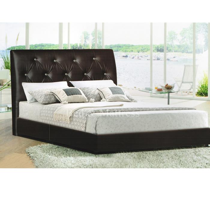 Evan divan queen bed for Queen size divan