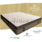 Dunlopillo Royal Executive Luxe Talasilver Latex Mattress