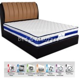 Fibrestar Blue Bell Bonnel Spring Mattress