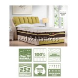 Slumberland ECO Plush 100% Natural Latex Mattress
